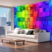 Fotobehang - Colour jigsaw