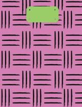 Pink & Green Tribal Composition Notebook