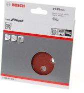 Bosch Schuurschijf 8-gats wood and paint diameter 125mm K100 blister van 5 schijven
