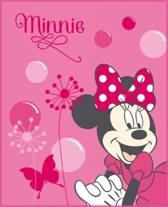 Disney Minnie Mouse New Shoes Pink - Fleece plaid - 110 x 140 cm - Roze