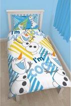 Frozen Olaf dekbedovertrek kinderen 140 x 200 cm - meisjes