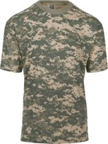101inc T-shirt Recon digital ACU camo