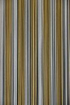 Sun-Arts Palermo - Vliegengordijn - 92x210 cm - Transparant Bruin