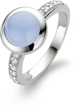 TI SENTO Milano Ring 12011LA - Maat 52 (16,5 mm) - Gerhodineerd Sterling Zilver