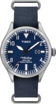 Timex Waterbury Blue TW2P64500 - Horloge - Heren - Blauw - Ø 40 mm