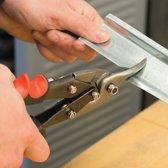 Silverline Aviatiek-blikschaar Linkshandige knip