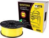PATONA 1.75mm yellow PLA 3D printer Filament PATONA