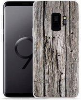 Galaxy S9 Hoesje Oud hout