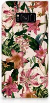Samsung Galaxy S8 Plus Uniek Standcase Hoesje Flowers