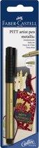 Tekenstift Faber-Castell Pitt Artist Pen 250 Gold