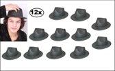 12x Al capone vinyl zwart