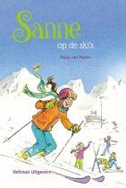 Sanne - Sanne op de ski's