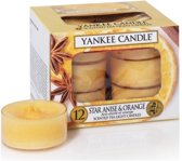 Yankee Candle waxinelichtjes Star Anise & Orange
