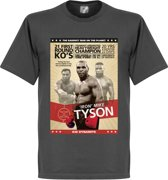 Mike Tyson Boxing Poster T-Shirt - XL