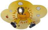 Niermann Plafondspotje wolk Sunny - Plafondlamp - 3 lichts - Geel