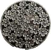 Magneetbroche bloemetjes
