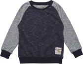 Minymo- jongens sweatshirt - Evan - blauw - Maat 140