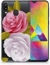 Samsung Galaxy M20 Uniek TPU Hoesje Roses