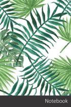 Notebook: Textil, Tela, Hoja, Planta Cuaderno / Diario / Libro de escritura / Notas - 6 x 9 pulgadas (15.24 x 22.86 cm), 150 p�g