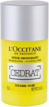 L'Occitane CEDRAT Mannen Stickdeodorant 75 g