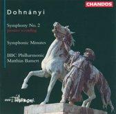 Dohnanyi: Symphony no 2 etc / Bamert, BBC Philharmonic