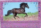 Horses Dreams briefpapier in opbergmap, pink