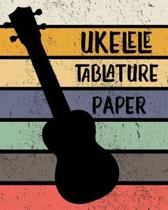 Ukelele Tablature Paper