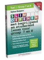 Boek cover Slim oefenen / met begrijpend en studerend lezen voor groep 7 en 8 van Sietse Kuipers