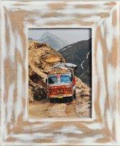 Henzo India Fotolijst - Fotomaat 13x18 cm - Wit
