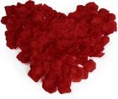 Luxe Rozenblaadjes Rood Large (4,5 x 4,5 Centimeter)- Set Van 1000 Stuks