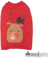 Doglife Christmas Jumpers on the Glitz - XXL