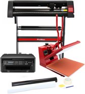 PixMax Sublimatie Set - Transferpers 50cm - Snijplotter (Windows) - Printer en Weeding kit