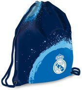 Real Madrid - Gymbag - 46 cm - Blauw