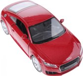 Welly Metalen Audi Tt 2014 Rood 12 Cm