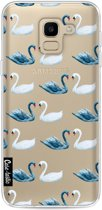 Casetastic Softcover Samsung Galaxy J6 (2018) - Swan Party