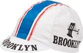 BROOKLYN WIT - wielerpet - fietspet - koerspet - cap