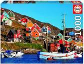 Educa Legpuzzel Noorse huisjes 1000 stukjes