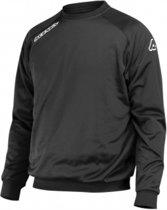 Acerbis Sports ATLANTIS CREW NECK SWEATSHIRT BLACK S