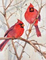 Cardinal Brothers Boxed Holiday Full Notecards