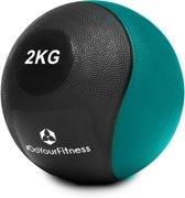 #DoYourFitness - Medicine bal - »Medical« - fitnessbal / gewichtsbal - in meerdere gewichtsklassen verkrijgbaar - 2kg / lichtgroen