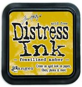 Ranger Distress Inks pad - fossilized amber