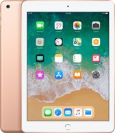 Apple iPad (2018) - 9.7 inch - WiFi - 32GB - Goud