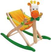 Houten hobbeldier hobbelfiguur giraf I'm Toy