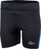 Rogelli Edia Runningshort  Hardloopbroek - Maat XL  - Vrouwen - zwart/blauw
