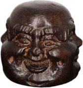 Leuke decoratief Boeddha / Buddha beeldje Hoofd rond