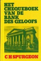 Chequeboek van de bank des geloofs