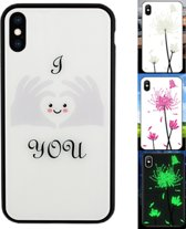 BackCover Magic Glass voor Apple iPhone Xs Max Hart