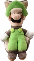 Super Mario Bros.: Flying Squirrel Luigi 22 cm Knuffel