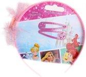 Disney Diadeem Met Speldjes Princess 3-delig Roze