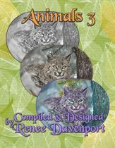 Animals 3: Grayscale Adult Coloring Book
